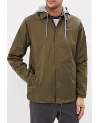 Мужская оливковая куртка-пуховик от Vans