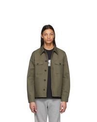 Мужская оливковая куртка-рубашка от Ps By Paul Smith