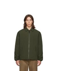 Мужская оливковая куртка-рубашка от The Very Warm