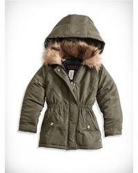 Оливковая куртка
