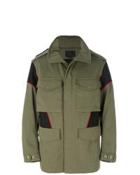 Оливковая полевая куртка от Alexander Wang