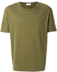 Мужская оливковая футболка с круглым вырезом от Faith Connexion