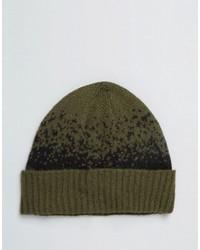 Мужская оливковая шапка от Asos