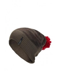 Мужская оливковая шапка от Billabong