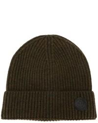 Мужская оливковая шапка от DSQUARED2