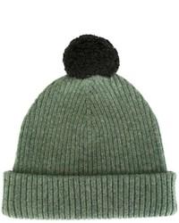 Мужская оливковая шапка от Marc Jacobs