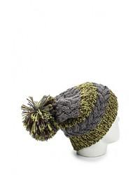 Мужская оливковая шапка от R Mountain