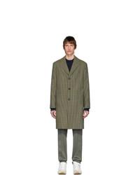 Оливковое длинное пальто от Acne Studios