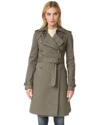 Женское оливковое пальто от Rebecca Minkoff