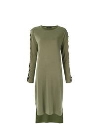 Оливковое платье-свитер от Uma Raquel Davidowicz