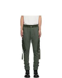 Оливковые брюки карго от Amiri
