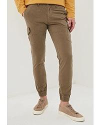 Оливковые брюки карго от Angelo Bonetti