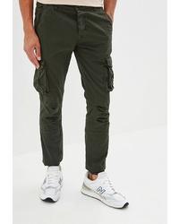 Оливковые брюки карго от Dali