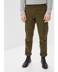 Оливковые брюки карго от Modis