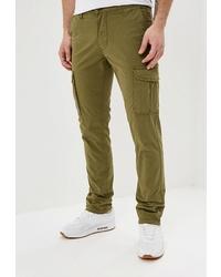 Оливковые брюки карго от Napapijri