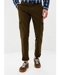 Оливковые брюки карго от the Kravets