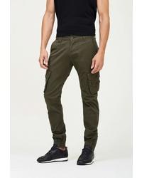 Оливковые брюки карго от WHITNEY