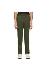Оливковые брюки чинос от A.P.C.