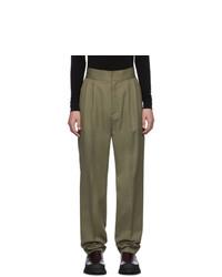 Оливковые брюки чинос от Ambush