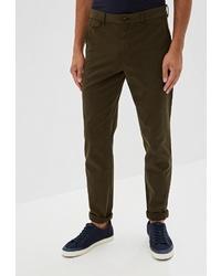 Оливковые брюки чинос от Calvin Klein