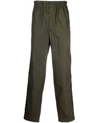 Оливковые брюки чинос от Comme Des Garcons SHIRT