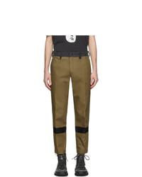 Оливковые брюки чинос от Diesel