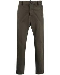Оливковые брюки чинос от DSQUARED2