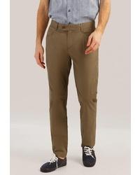 Оливковые брюки чинос от FiNN FLARE
