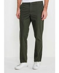 Оливковые брюки чинос от Modis