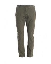 Оливковые брюки чинос от Only & Sons
