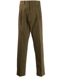 Оливковые брюки чинос от Qasimi