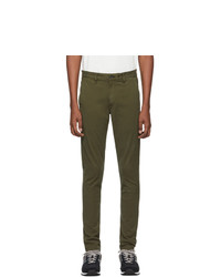 Оливковые брюки чинос от Rag and Bone