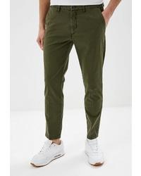 Оливковые брюки чинос от United Colors of Benetton