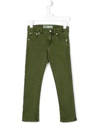 Детские оливковые брюки для мальчику от Levi's