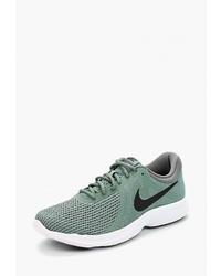 Мужские оливковые кроссовки от Nike