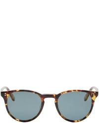 Оливковые солнцезащитные очки