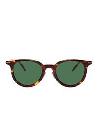 Мужские оливковые солнцезащитные очки от Eyevan 7285