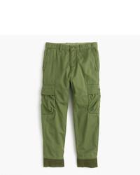 Оливковые спортивные штаны