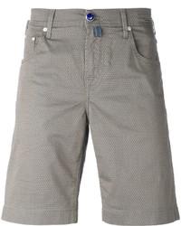 Мужские оливковые хлопковые шорты от Jacob Cohen