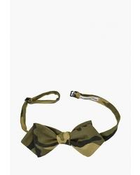 Мужской оливковый галстук-бабочка от Rainbowtie