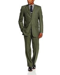 Оливковый костюм