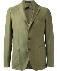 Оливковый пиджак