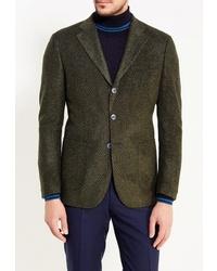Мужской оливковый пиджак от GT Gualtiero