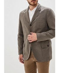 Мужской оливковый пиджак от Hackett London