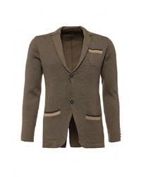 Мужской оливковый пиджак от Y.Two