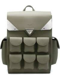 Оливковый рюкзак