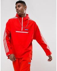 Мужская оранжевая ветровка от adidas