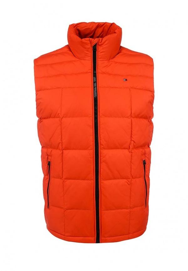 d53c84c9 Мужская оранжевая куртка без рукавов от Tommy Hilfiger, 12 590 руб ...