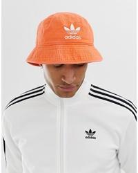 Мужская оранжевая панама от adidas Originals