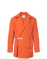 Оранжевая полевая куртка